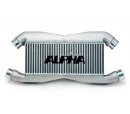 Intercooler Alpha Performance stock IC piping Nissan GTR35 (con logo)